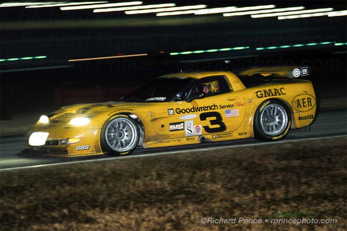 [PIC] Throwback Thursday: Winning Times for the Corvette C5-R Chassis No. 004