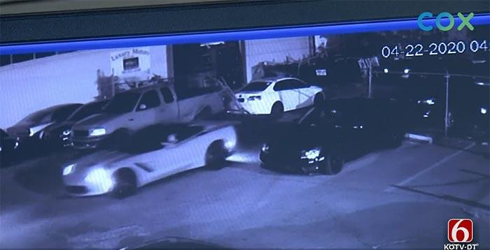 [STOLEN] Burglars Hit Tulsa Dealership Twice and Steal a 2014 Corvette Stingray