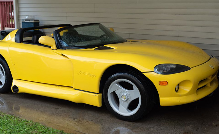 Found on Facebook: Mashup C4 Corviper Listed for $8,000