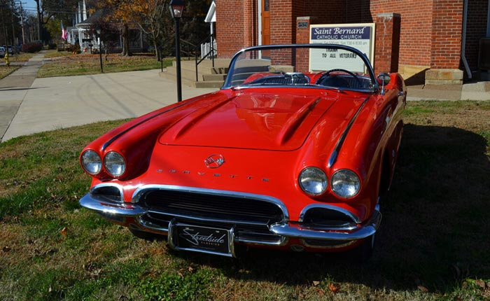 You Can Win This 1962 Corvette Fuelie in the Saint Bernard Classic Corvette Giveaway