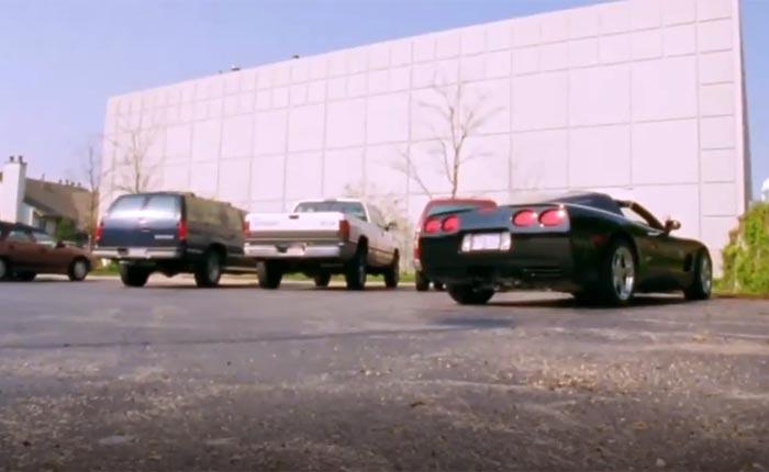 Sports Fans Cracking Up Over Michael Jordan Parking his Corvette on ESPN's The Last Dance