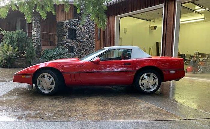 Corvettes on Craigslist: 1989 Corvette Convertible with 2,947 Original Miles