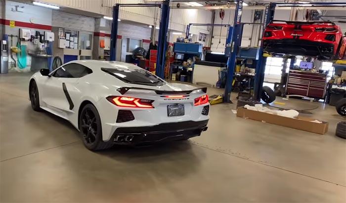 [VIDEO] 2020 Corvette Stingray's Oil Change Procedure is Different than Previous Corvette Generations