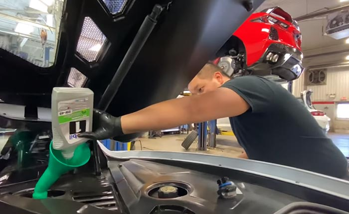 [VIDEO] 2020 Corvette Stingray's Oil Change Procedure is Different than Previous Corvette Generations