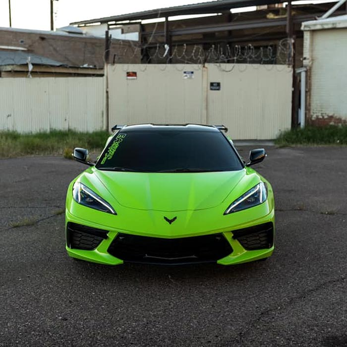 [PICS] Wrapped Acid Green 2020 Corvette is the Exterior Color the C8 Needs