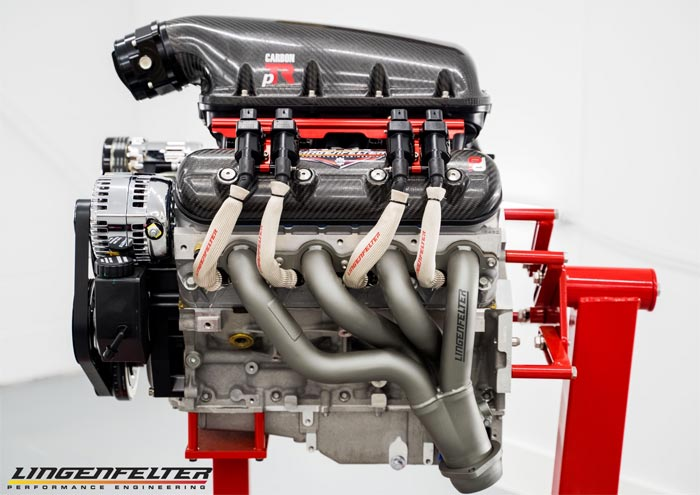 [VIDEO] Lingenfelter Performance Engineering Drops New LS3 and LS7 Carbon Fiber Intake