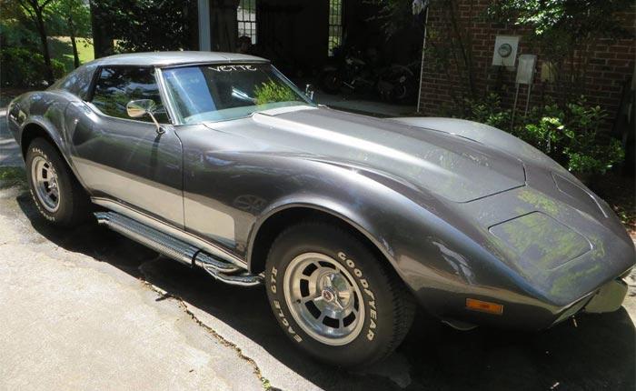 Corvettes on Craigslist: 1976 Corvette Restomod