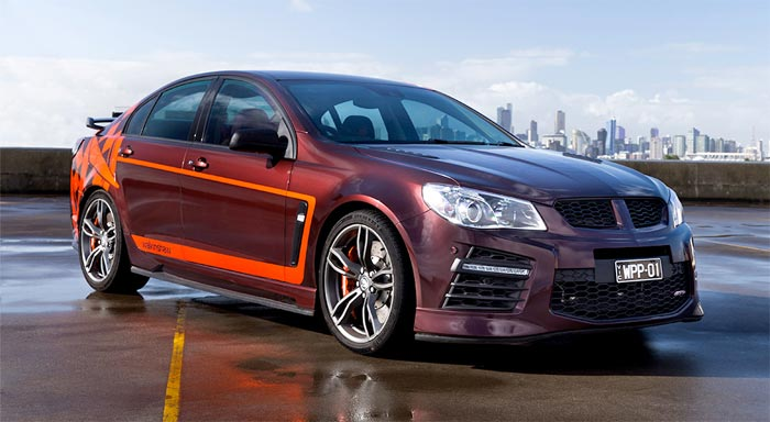 GM Partnering with Australia's Walkinshaw to Form GM Specialty Vehicles (GMSV)