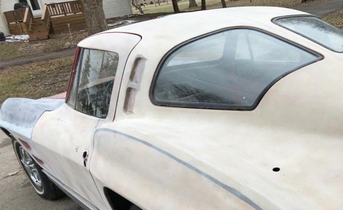 Corvettes on eBay: 1963 Corvette Split-Window (Some Assembly Required)
