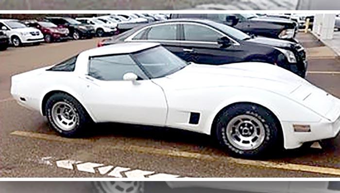 [STOLEN] Vicksburg Police Need Help In Recovering a 1980 Corvette