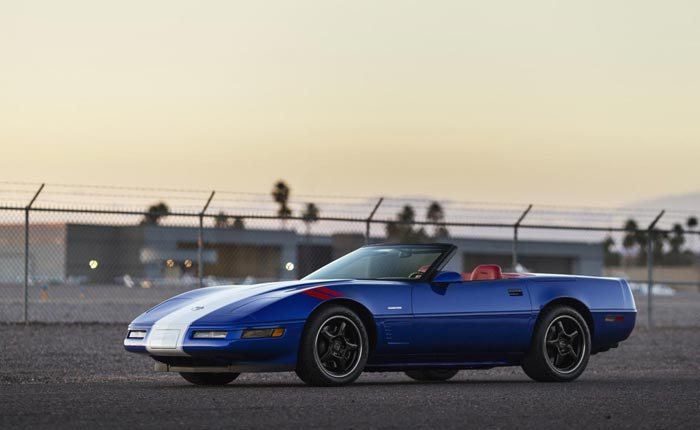 Corvettes for Sale: Investment-Grade 1996 Corvette Grand Sport Convertible #709