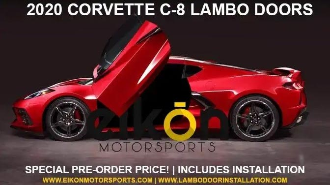 [PICS] Arizona Shop is Offering Lambo Doors Kits for Your C8 Corvette Starting at $2,999