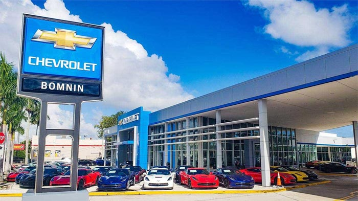Bomnin's Miami Dealerships Rank #1 and #2 in USA Among All Chevy Dealers in 2020 YTD Sales