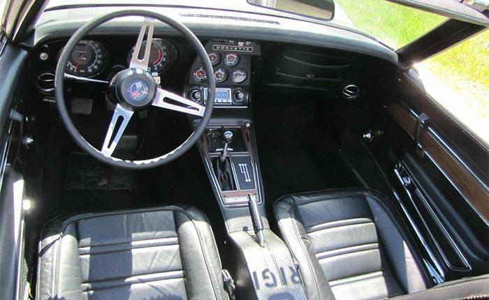 Corvettes on eBay: 1972 Convertible with 3,200 Original Miles