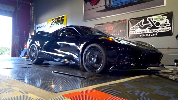 [VIDEO] Dyno Shows What Exactly Happens When the C8 Corvette Passes the 500 Mile Break-in Mark