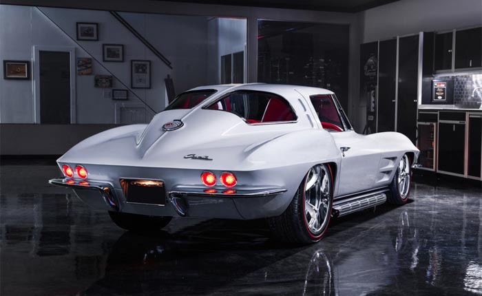 Barrett-Jackson Online Auction: 1963 Corvette Restomod Reaches $200K with Bidding Ending on Saturday