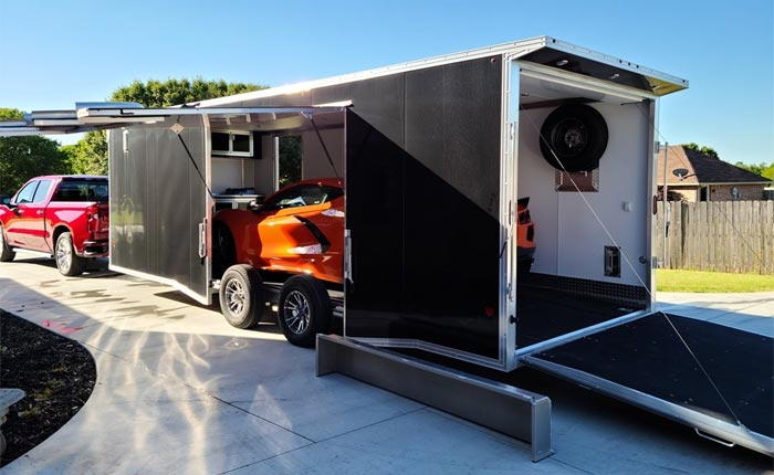 [VIDEO] How To Properly Load Your 2020 Corvette on a Trailer