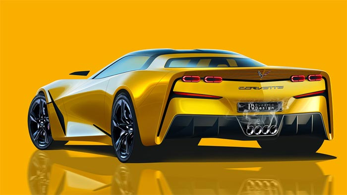 C9 Corvette Rendered With Front-Engine Design, Looks Very Sharp