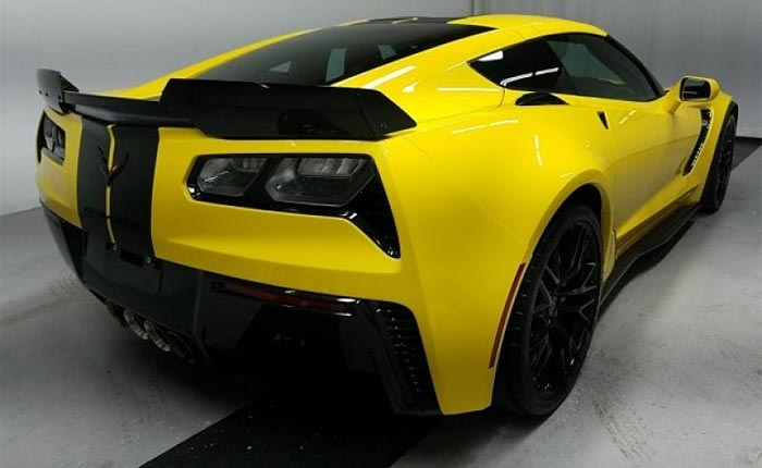 2019 Corvette Z06 with Ground Effects Package
