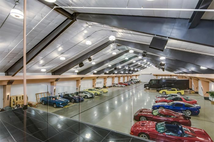 How Many Corvettes in this Garage Mahal Can You Name?