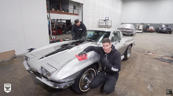 [VIDEO] 1967 Corvette Receives First Wash in 33 Years