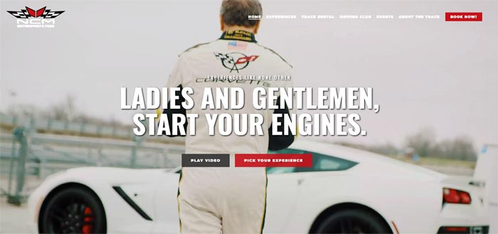 NCM Motorsports Park Unveils New Website