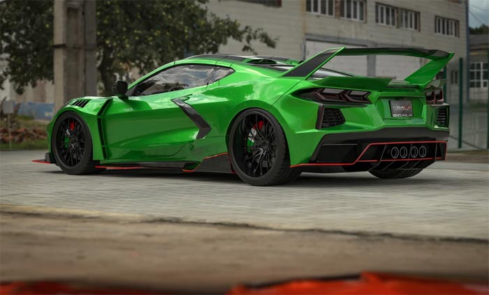 [PICS] Sigala Designs C8RR Corvette Widebody Kit Coming in Fall of 2020