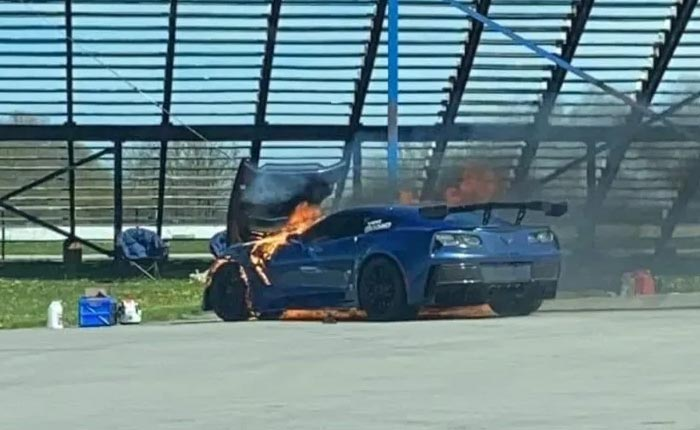 [ACCIDENT] C7 Corvette Z06 Burns to the Ground During a Toronto Open Track Event