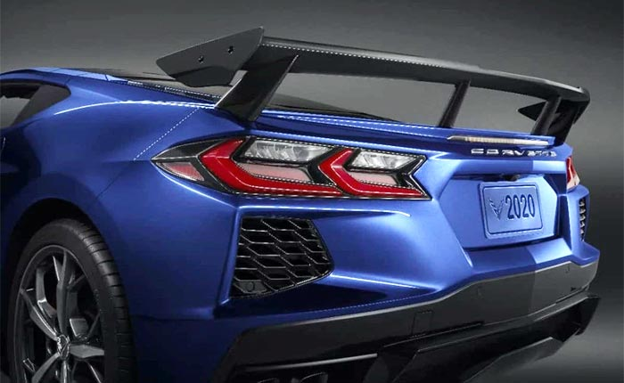 ACS Composite Now Offering the High Wing Spoiler for the C8 Corvette