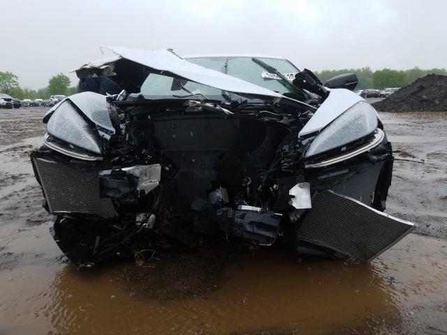 Crashed C8 Corvette Looks Pitiful On Copart