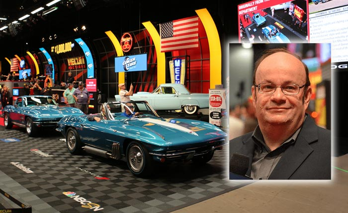 [AUDIO] Mecum's John Kraman is the Featured Guest on the Corvette Today Podcast