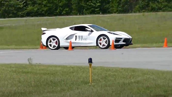 [VIDEO] 2020 Corvette Stingray Flies Through an SCCA Autocross Course