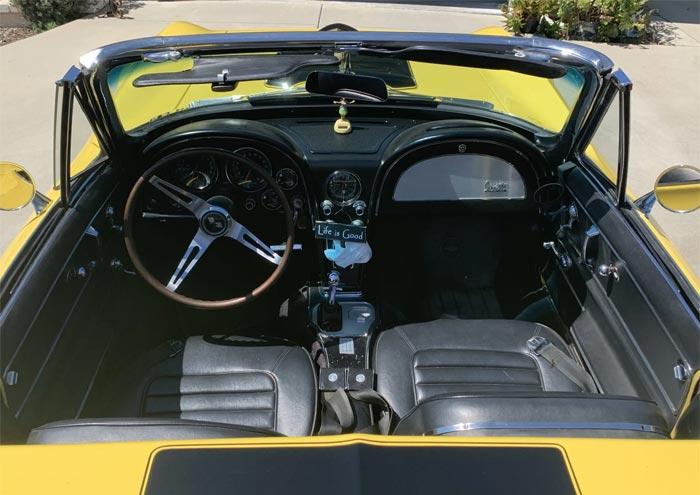 Corvettes for Sale: Non-Original 1966 Corvette on Bring A Trailer