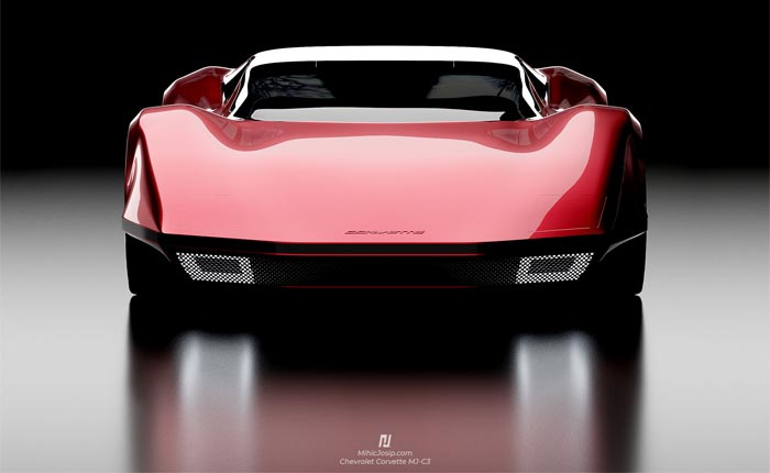 [PICS] Corvette 'MJ-C3' Rendering Blends the C8 Mid-Engine with C3 and C4 Corvette Design Elements