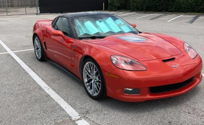 Found on Facebook: 2012 Corvette ZR1 with 118K Miles Offered for $38,000