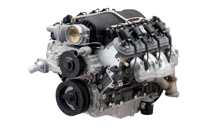 Chevrolet Performance Introduces New LS7 Crate Engine with More Power