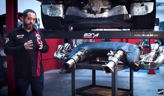[VIDEO] Borla Talks C8 Corvette Exhaust Development
