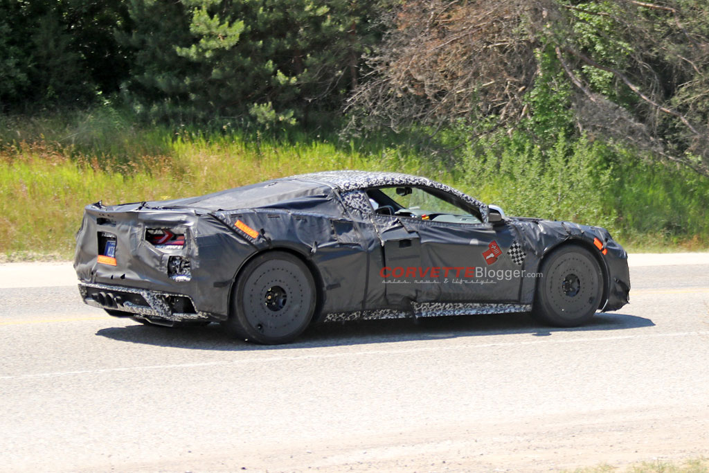 C8 Corvette Z06 Prototypes
