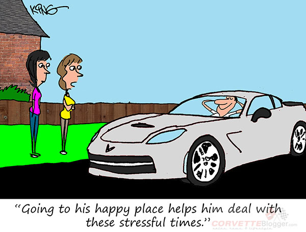 Saturday Morning Corvette Comic: Safe Spaces and Happy Places