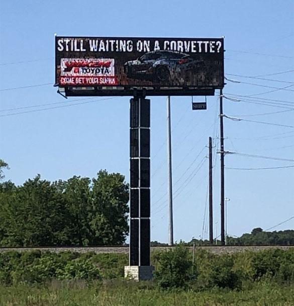 Yokem Toyota Billboard