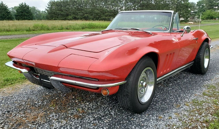 Corvettes on eBay: Project-Quality 1966 Corvette That Runs and Drives
