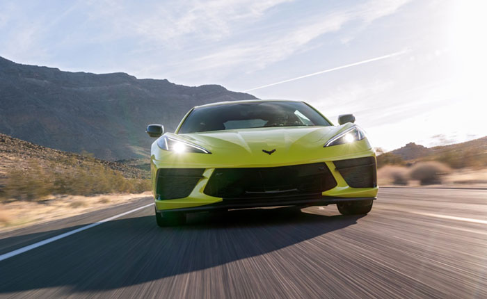 The C8 Corvette is Loaded with 21st Century Composite Materials