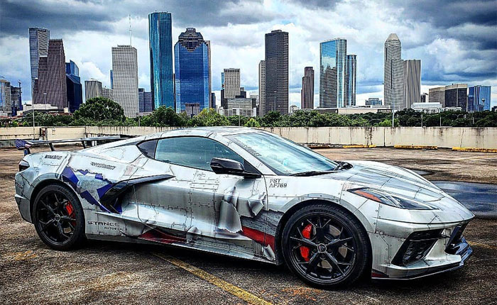 [PICS] Inspired By A Fighter Jet, This 2020 Corvette Now Looks Like One