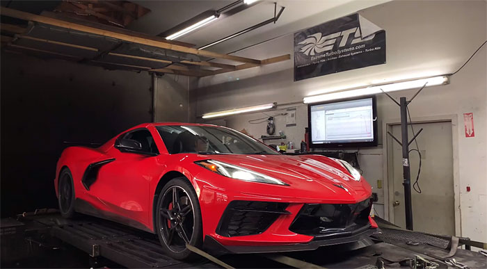 [VIDEO] Extreme Turbo System's 2020 Corvette Generates 736 Horsepower on the Dyno