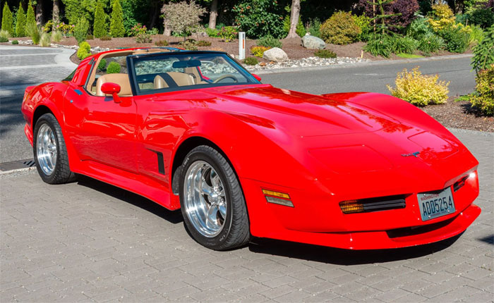 Corvettes for Sale: 1981 Corvette with Ground Effects on Bring A Trailer