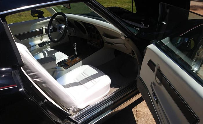 Corvettes for Sale: 1977 Corvette with an L82 and 4-Speed Manual Offered in Atlanta