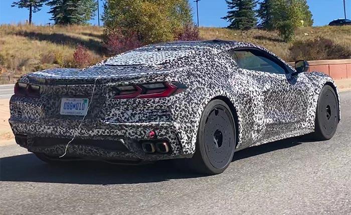[SPIED] C8 Corvette E-Rays are Testing in Colorado