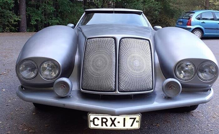 1977 Corvette For Sale in Finland Offers A Unique Take on the '70s Pimp Mobile Fad