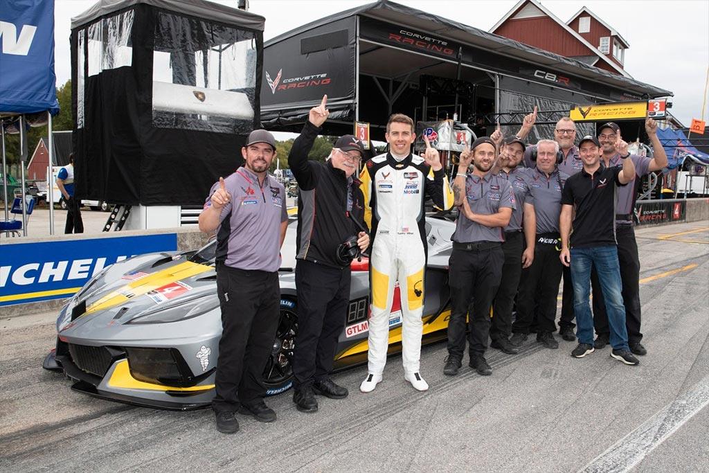 Corvette Racing at VIR: Milner Keeps No. 4 C8.R Rolling with Pole