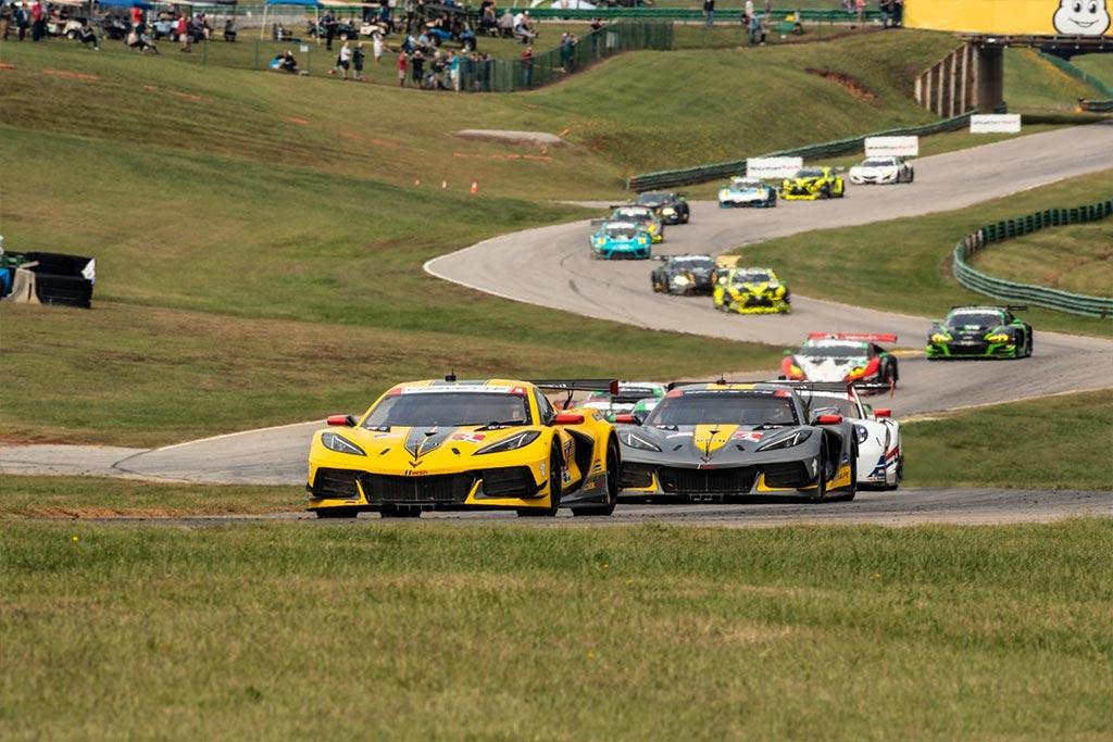 Corvette Racing at VIR: Third Straight for Milner, Tandy, No. 4 C8.R